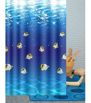 Bright Fish Shower Curtain T2941