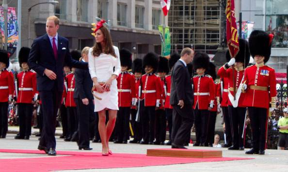 Kate Middleton's Fashion Style In The Royal Tour Of Canada: Day 1 And 2