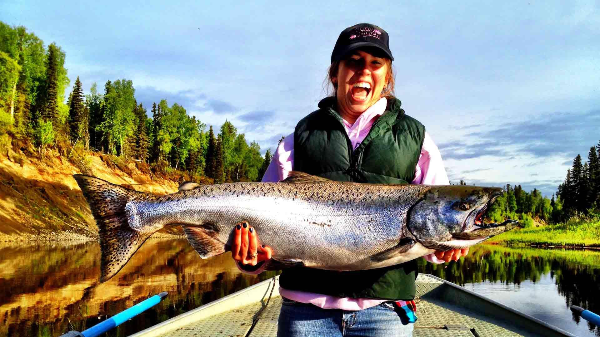 Рыбалка на аляске фото