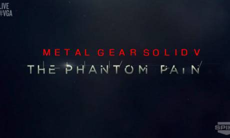 Анонсираха играта Metal Gear Solid V: The Phantom Pain