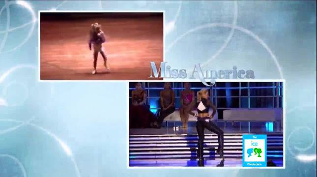 Miss New York Mallory Hagan Tap Dancing to James Brown _ LIVE 1-12-13