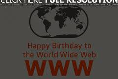 The World Wide Web celebrates its birthday