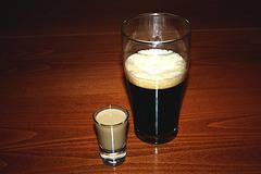 Cocktail Irish Car Bomb Shot