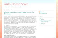 What You Need to Know About a Dealer to Avoid Auto House Scam