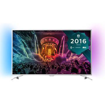 "Телевизор LED Smart Android Philips, 55""(139 cм), 55PUS6501/12, 4K Ultra HD"