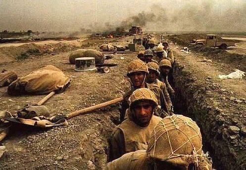 Резултат с изображение за Ирано-иракската война.