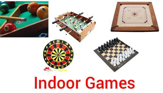 indoor n outdoor games