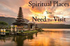 Travel for spiritual enlightenment – A search for peace of mind