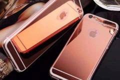 Силиконов гръб MBB 3D Diamond за iPhone 6 (4.7), Rose Gold