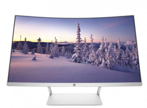"HP 27"" VA LED Curved монитор само за 489 лв от eZona.bg 