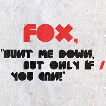 FOX. On SALE: 80% OFF untill 31 July! Designer: Patric Hadzsinicsev