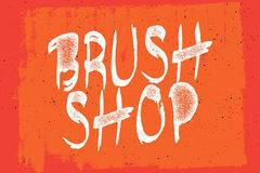 Brushshop by Peter Olexa, Cruzine Design. Free Latin and Cyrillic handdrawn & brush style font