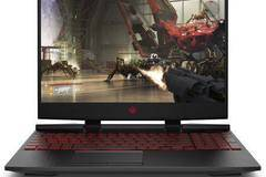 "Лаптоп HP Omen with processor Core i7-8750H up to 4.10Ghz, 15.6"" UWVA, Full HD, IPS, 16GB, 512GB SSD + 1TB HDD, Nvidia..."