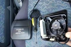 DISASSEMBLY CAR HEATER а.С.м