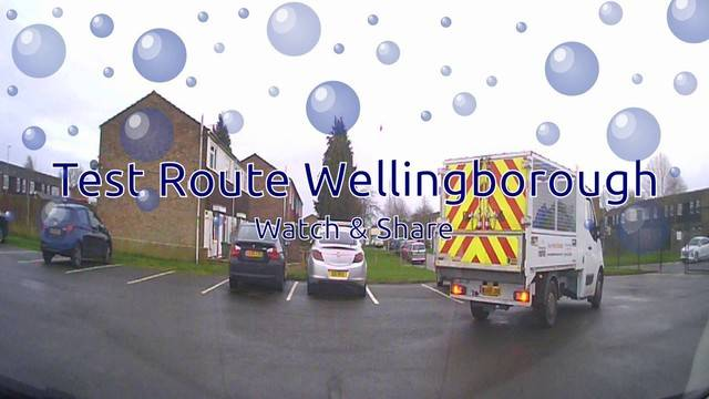 Wellingborough Driving Test Routes No. 01