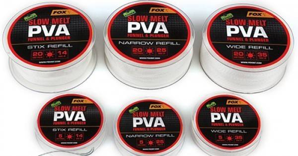 PVA пълнител Fox Edges PVA Mesh Refill Slow