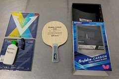 ARYLATE CARBON TABLE TENNIS BLADES а.С.м