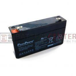 FirstPower FP612 6V 1.2Ah